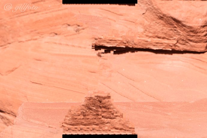 Same as previous image, but with a patchy, vaguely rocky red filling